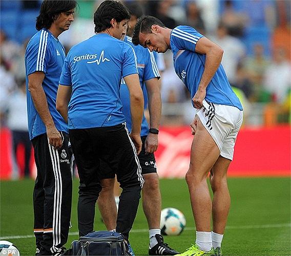 Gareth Bale trở lại tập luyện