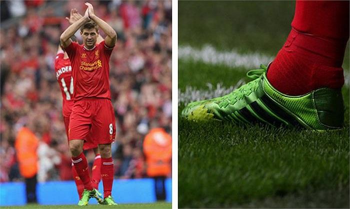 Gerrard cũng là một fan trung thành của dòng giày có giá bán lên tới 7 triệu đồng này