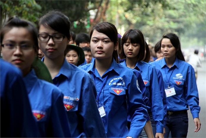 Công việc tình nguyện trong lễ tang Đại tướng Võ Nguyên Giáp cũng là một dịp trọng đại và ý nghĩa của rất nhiều sinh viên