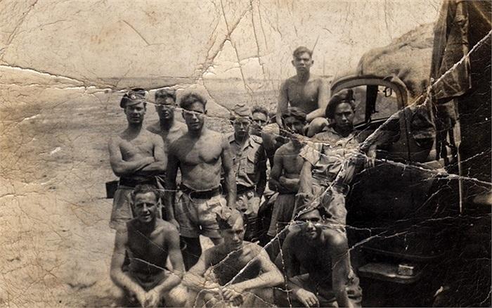 Bức ảnh hiếm hoi của các thành viên SBS năm 1943, họ được mô tả như nhóm 'sát thủ man rợ và tàn nhẫn'