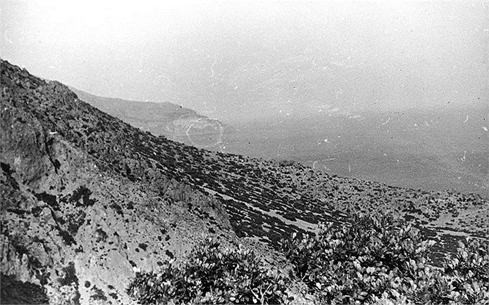 Địa hình Crete, nơi các biệt kích phải làm nhiệm vụ tiếp cận sân bay quân Đức