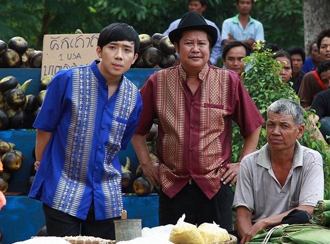 Cảnh đầu tiên được thực hiện trong một ngôi chùa tháp tại vùng biên giới Tịnh Biên Việt Nam và Tà Keo Campuchia. Nhiều người dân Campuchia xung quanh đã đến xem và ủng hộ tinh thần cho đoàn phim.