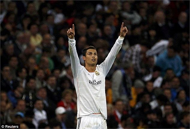 Ronaldo và cú đúp bàn thắng.