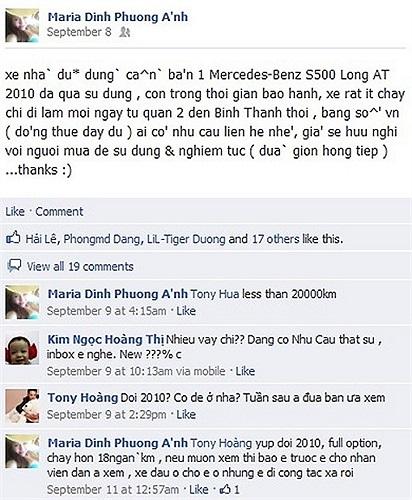 Đinh Phương Ánh được bạn trai người Dubai tặng  siêu xe Porsche Panamera có giá lên tới 6 tỷ.