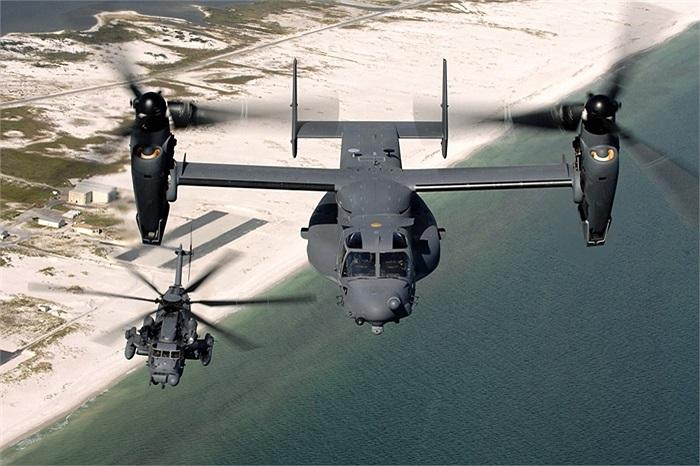 Ưng biển Osprey, mạnh mẽ với khả năng cất cánh đứng và bay như phản lực