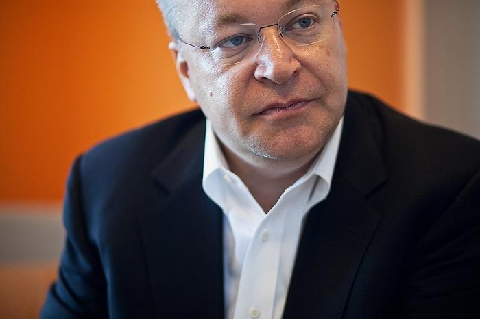 Stephen Elop: Từng là Giám đốc bộ phận Doanh nghiệp tại Microsoft và hiện là CEO của Nokia.