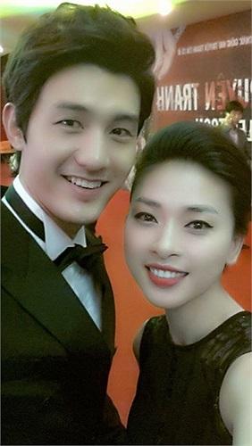 Người đẹp rất ấn tượng về vẻ chiều cao và vẻ đẹp trai của Lee Ki Woo.
