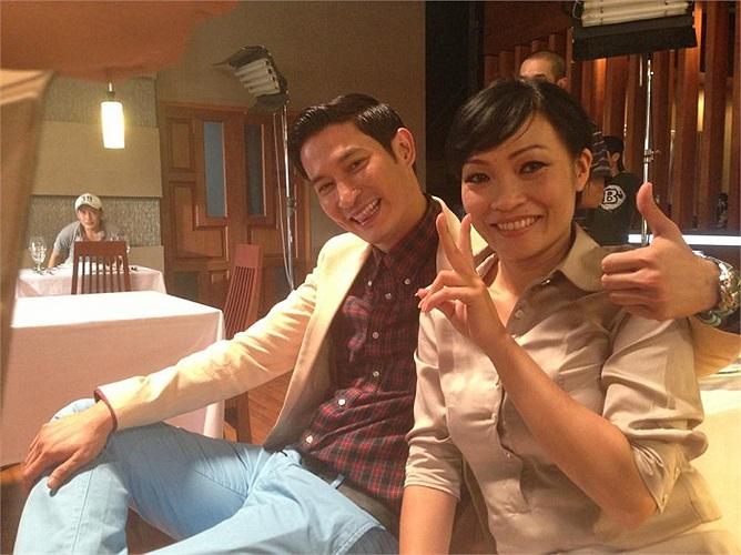 Phương Thanh và Huy Khánh cùng kết hợp trong phim mới.