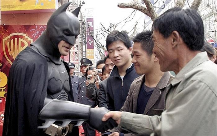 'Người dơi' xuất hiện ở Trung Quốc