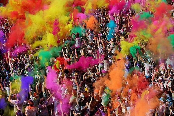 Lễ hội sắc màu ở Gold Coast, Australia