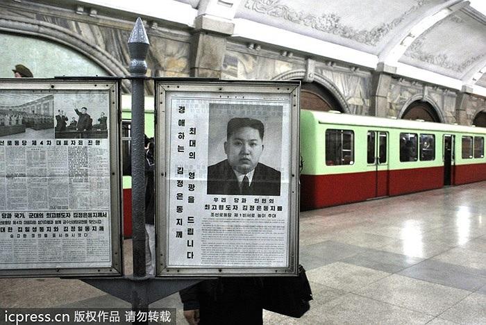 Tàu điện ngầm Bình Nhưỡng được khởi công vào năm 1968 và hoàn thành ngày 6/9/1973