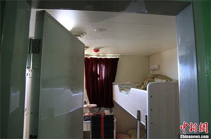 Phòng ngủ dành cho các thuyền viên tàu Ngư chính 311