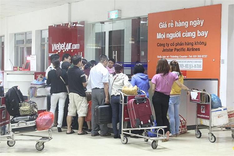 Những hành khách được xem là 'may mắn' khi lấy lại tiền vé(Ảnh độc giả cung cấp)