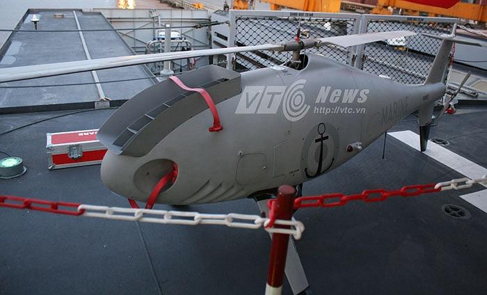 Được trang bị máy bay không người lái Schiebel Camcopter S-100