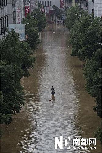 Ít nhất 91 người chết và 111 người mất tích sau nhiều ngày mưa lớn và lụt lội ở miền Đông Bắc và miền Nam Trung Quốc