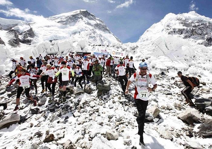 Cuộc đua chinh phục đỉnh Everest ở Nepal