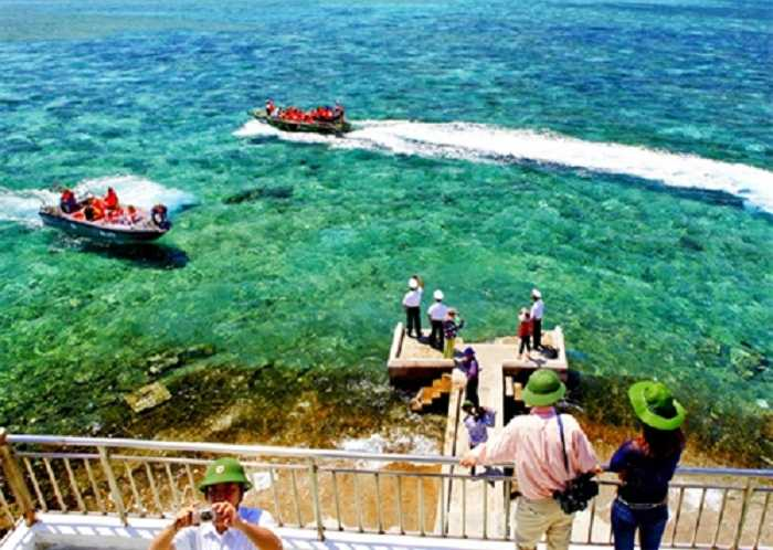 trường sa, vẻ đẹp, thiên nhiên, trong vắt, biển đảo, vùng biển