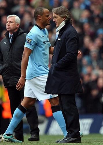 Man City đón chào sự trở lại của đội trưởng Vincent Kompany