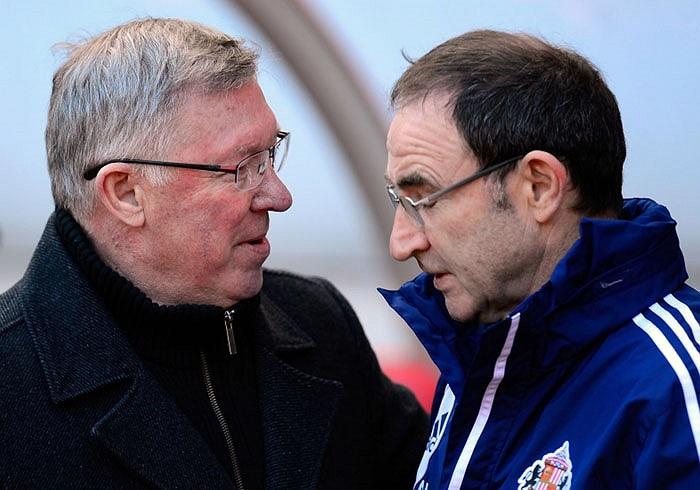 Martin O'Neill là HLV thứ 1.435.622 bị sa thải trong suốt hơn 26 năm Alex Ferguson tại vị ở MU