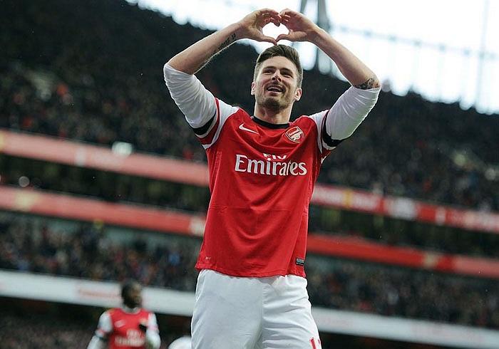 Trái tim Giroud luôn dành cho Arsenal