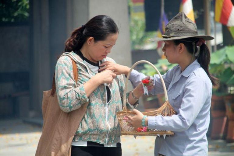 vu lan, hứng hoa, hoa sa la, báo hiếu, bình an, phước lộc