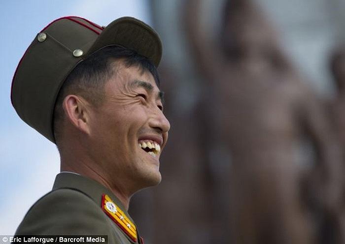 Loạt ảnh cho thấy một phần cuộc sống của các binh sĩ Triều Tiên