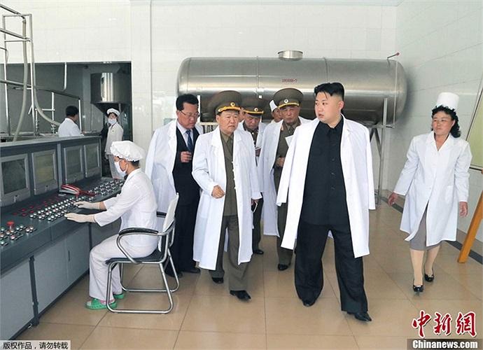 Bên trong nhà máy chế biến thực phẩm ở Bình Nhưỡng