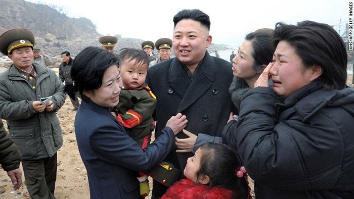 Được người thân của các binh sĩ Triều Tiên chào đón nồng nhiệt