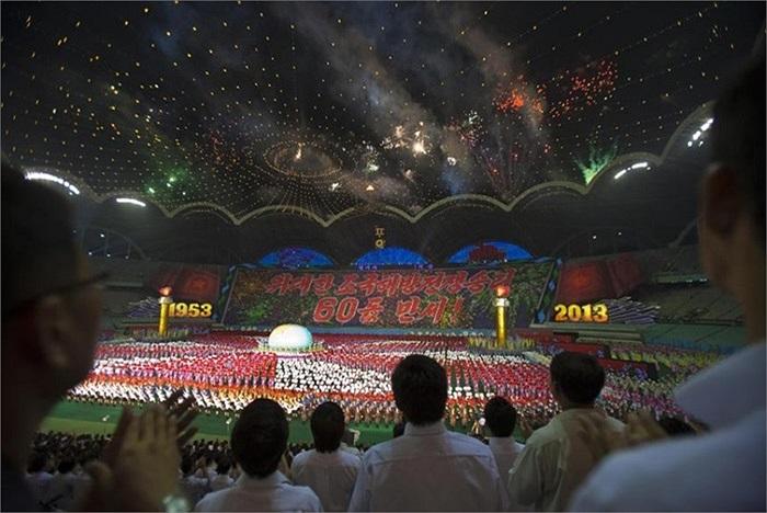 Nhiều hoạt động nghệ thuật diễn ra vào hôm 22/7 để kỷ niệm 60 năm ngày kết thúc chiến tranh Triều Tiên