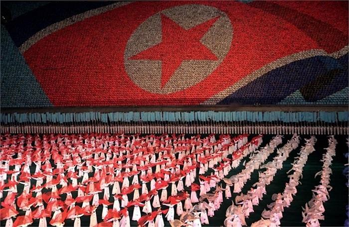 Năm ngoái, gần 1.000 khách du lịch phương Tây đến Triều Tiên để xem lễ hội Arirang