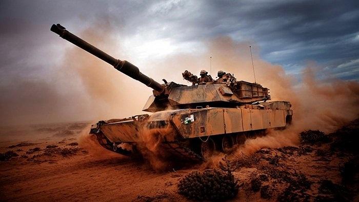 Xe tăng được nhiếp ảnh gia lực lượng Lính thủy đánh bộ chụp lại