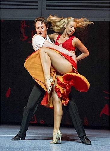 Buổi biểu diễn của Dirty Dancing tại Nhà hát Piccadilly ở London