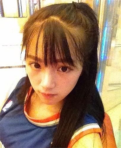 Cô học ngành truyền hình của đại học Vũ Hán Trung Quốc