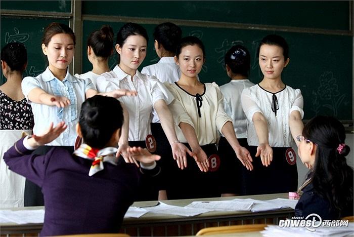 Ngày 26/3, hãng hàng không Hải Nam,Trung Quốc tổ chức ngày tuyển dụng nữ tiếp viên hàng không