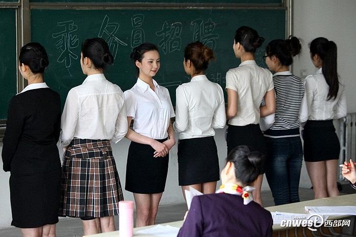 Thu hút rất nhiều nữ sinh các trường Đại học Trung Quốc
