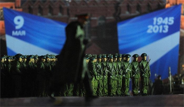 Cuộc tập dượt duyệt binh mừng Ngày Chiến Thắng ở Nga diễn ra trong hai tuần