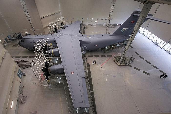 Máy bay vận tải chiến lược A400M của Không quân Thổ Nhĩ Kỳ