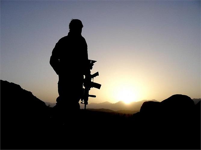 Hình ảnh đặc nhiệm Australia đang làm nhiệm vụ ở Kandahar, Afghanistan