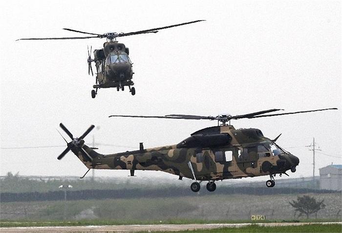 200 chiếc KUH Surion sẽ được triển khai để thay thế trực thăng tấn công UH-1H và trực thăng hạng nhẹ 500MD đang dùng trong quân đội Hàn Quốc