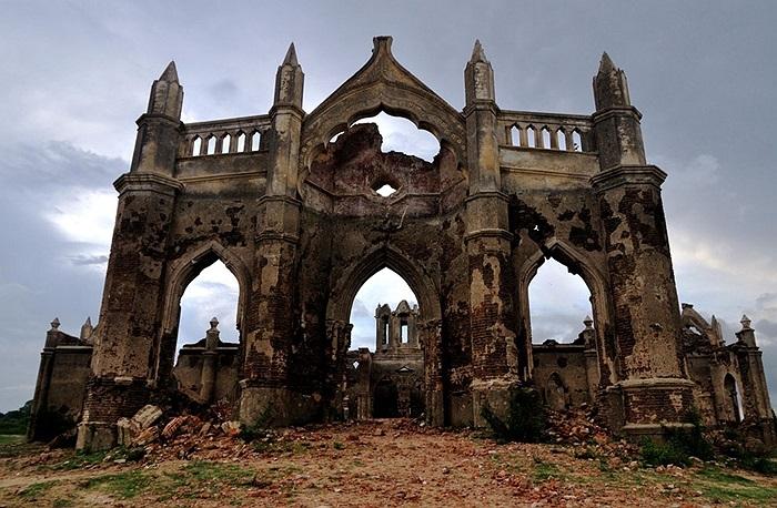 Nhà thờ cổ gần 200 năm tuổi ở Hassan, Ấn Độ