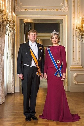 Chân dung vua Willem-Alexander và hoàng hậu