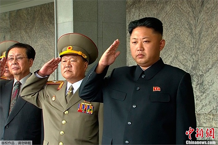 Ngày 9/9, lãnh đạo tối cao Triều Tiên Kim Jong-un tham dự lễ duyệt binh tại Bình Nhưỡng