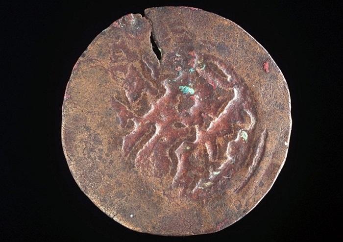 Đồng tiền Kilwa cổ xuất hiện từ năm 1.100 trong bộ sưu tập của bảo tàng Powerhouse ở Sydney, Australia
