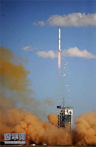 Truyền thông Trung Quốc nói vệ tinh Thực Tiễn 11-05 đã bay vào quỹ đạo một cách thuận lợi