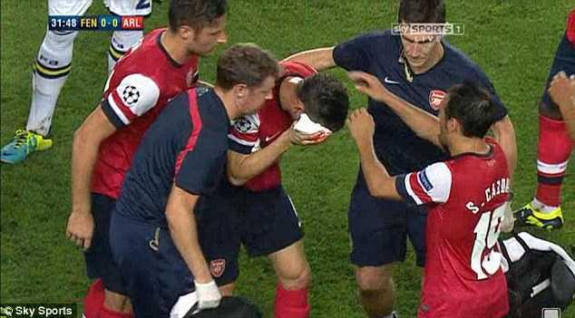 Arsenal chấn thương