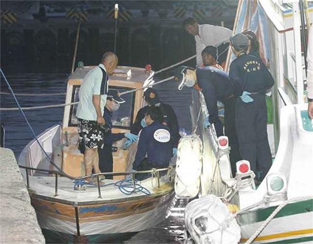 Chiếc tàu bị hải quân Philippines nã đạn là tàu cá Quảng Đại Hưng số 28 được làm bằng gỗ loại nhỏ cỡ 10 tấn