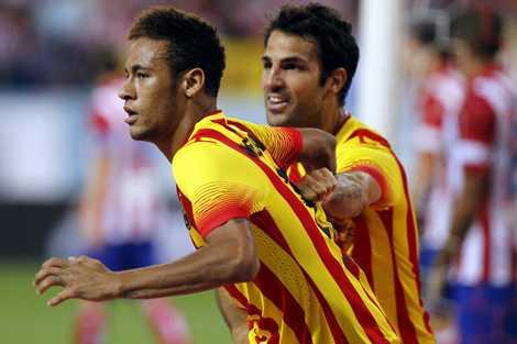 Fabregas và Neymar đủ sức thay thế Messi?