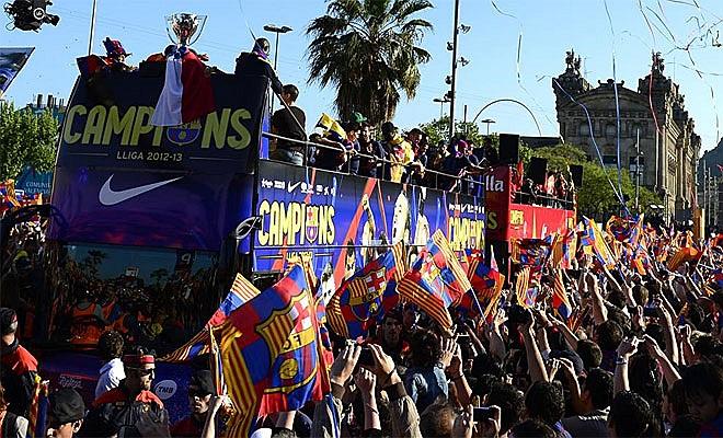 Chức vô địch La Liga lần thứ 22 của Barca.