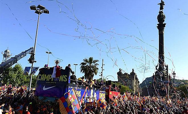Không khí lễ hội ở xứ Catalunya.