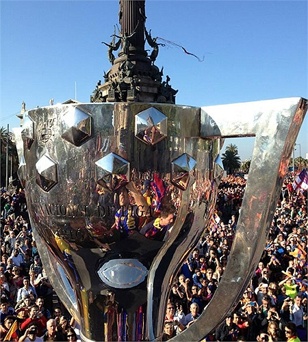 Chiếc cúp hết sức có ý nghĩa với Barca.